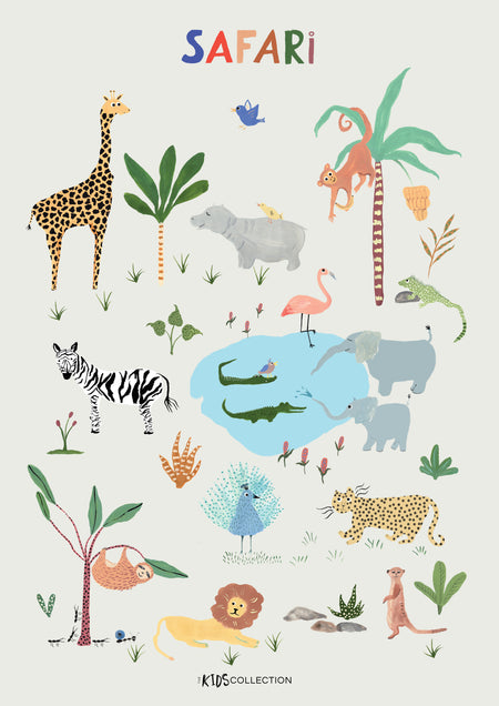 Safari Poster by The Kids Collection