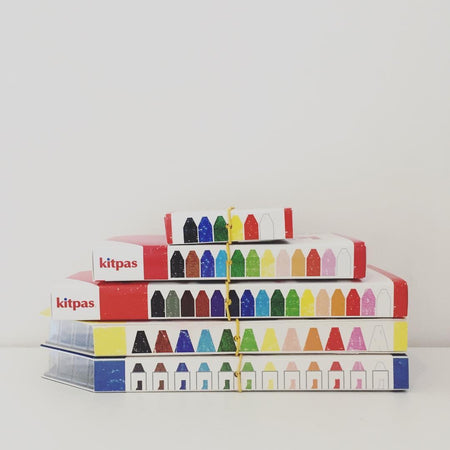 Medium Crayons by Kitpas (6 Colours)