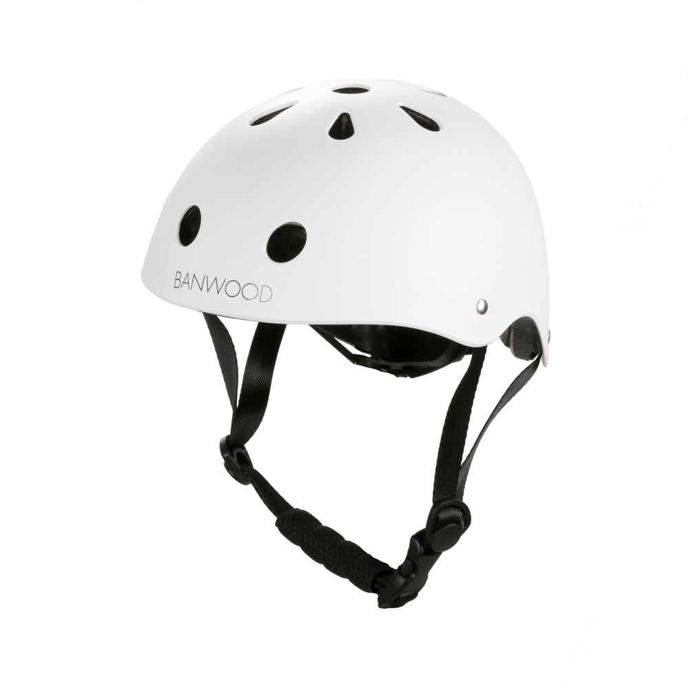 Load image into Gallery viewer, Banwood Helmet - Matte White