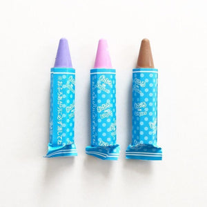 Bath Markers - set of 3 colors, Violet, Pink, Brown by Kitpas