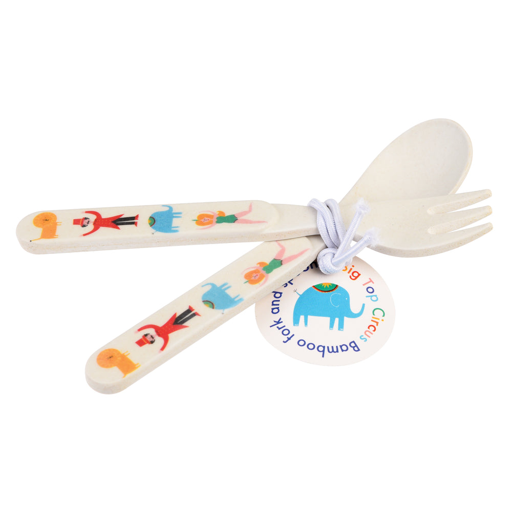 Load image into Gallery viewer, Big Top Circus Bamboo Cutlery