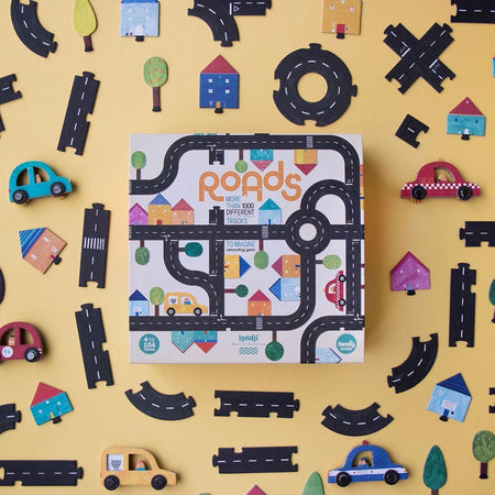 Roads Puzzle Game by Londji