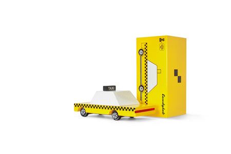 Yellow Taxi Candycar by Candylab Toys