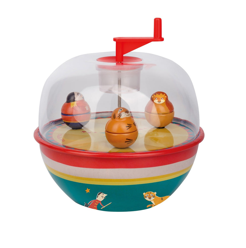 Wind Up Circus Musical Globe (Large)