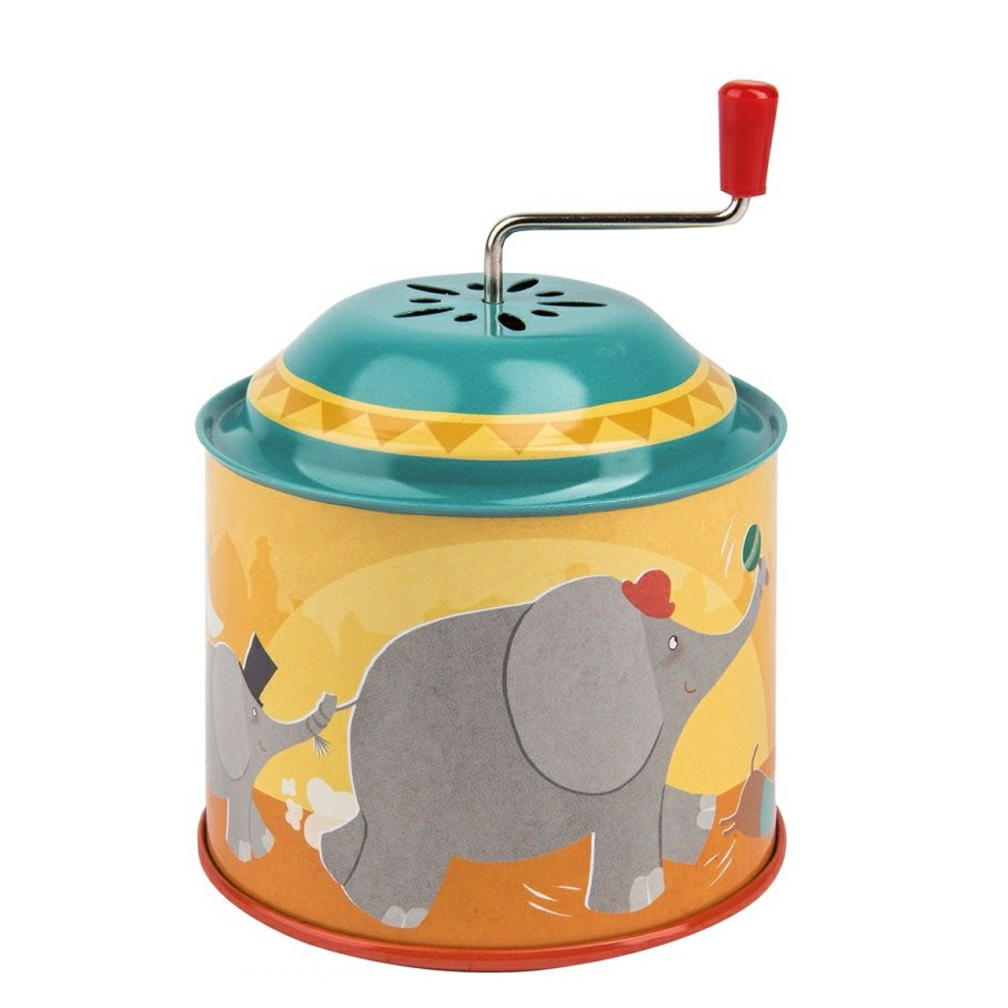 Wind Up Circus Musical Tin
