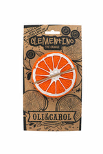 Clementino the Orange 100% Natural Rubber Teether by Oli & Carol