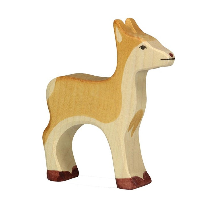 Deer Wooden Figure by Holztiger