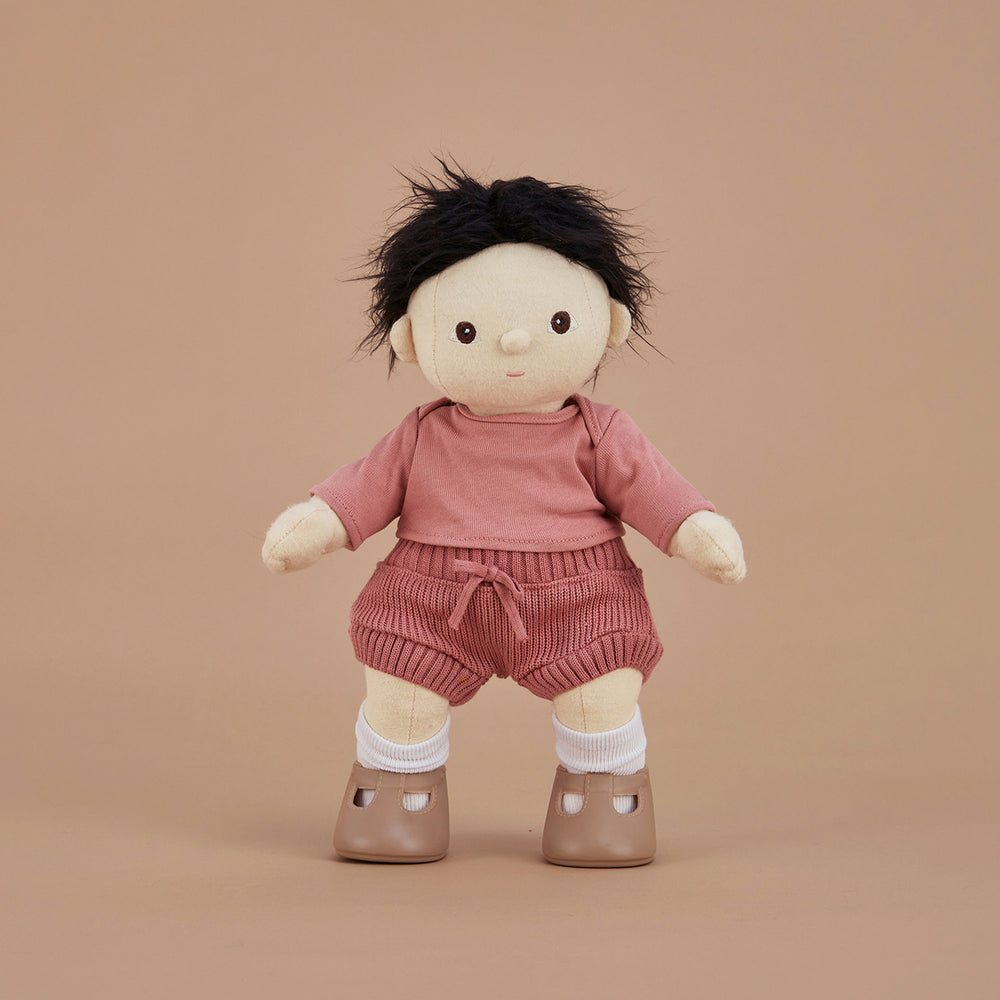 Dinkum Doll Snuggly Set - Berry