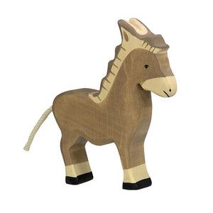 Donkey Wooden Figure by Holztiger
