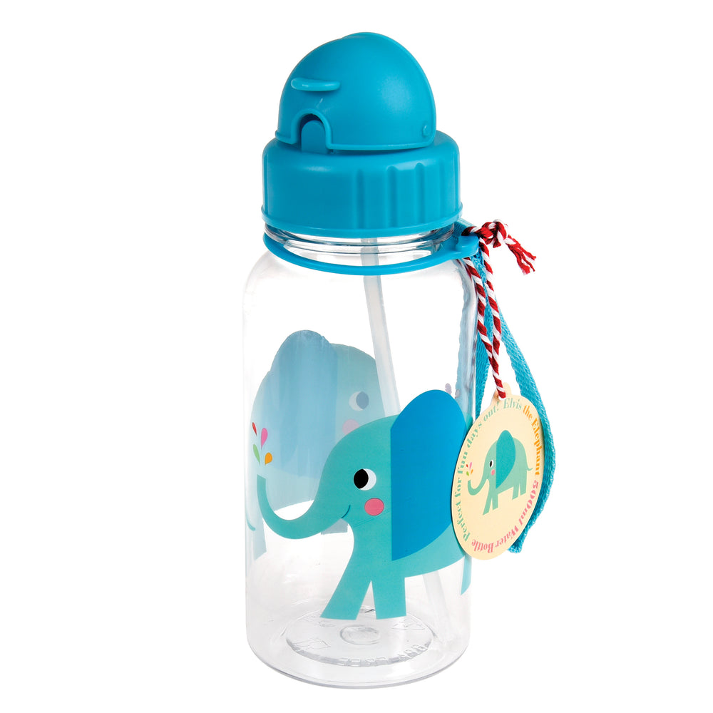 ELVIS the Elephant Water Bottle