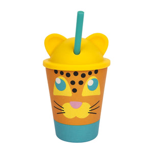 Load image into Gallery viewer, Eco Kids Tumbler | LEOPARD