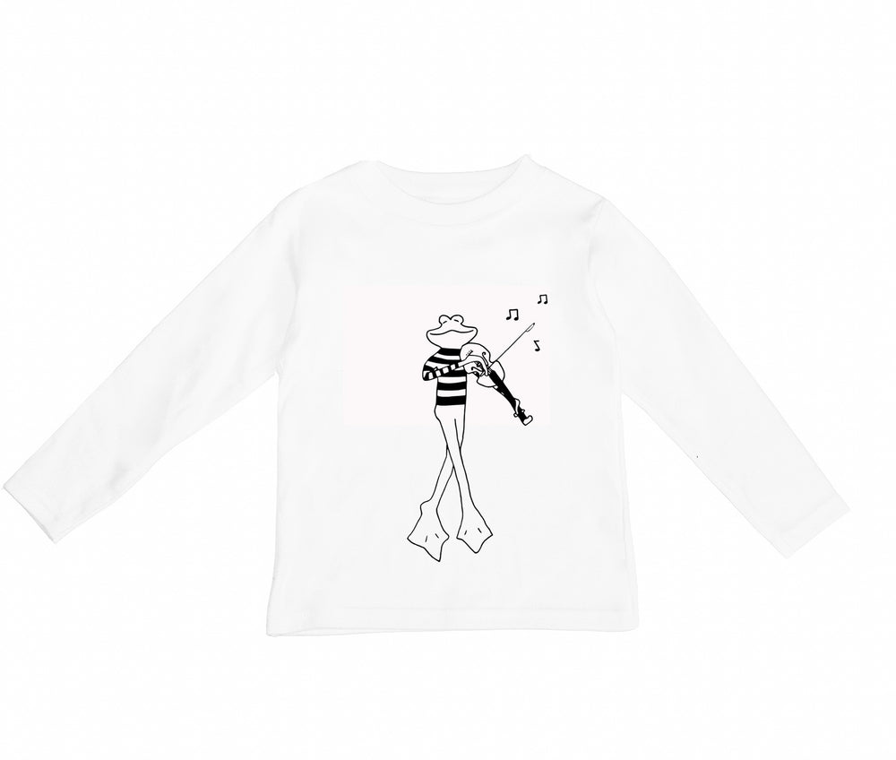 Jean Claude Long Sleeve Tee by Wexbaby