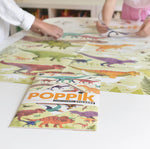 Giant Activity Sticker Poster - Dinosaurs with 35 Repositionable Stickers by Poppik