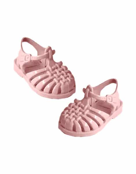Load image into Gallery viewer, 'Sun' Beach Sandals in Pastel Pink for Gordis Dolls by Minikane