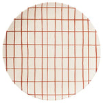 Copper Grid Bamboo Plate