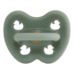 Colourful Pacifier 0-3 mth - Round in Moss Green