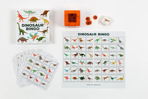 Load image into Gallery viewer, Dinosaur Bingo Game