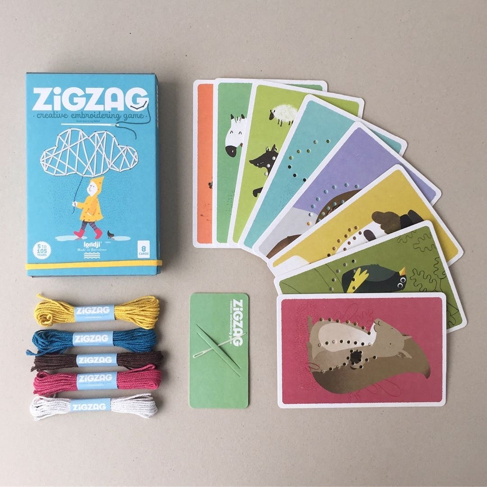Zig Zag Sewing Activity