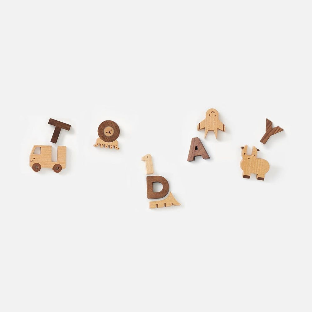 Load image into Gallery viewer, Alphabet Play Blocks Set