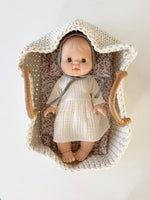 Knitted Bassinet 35cm for Gordis Dolls by Minikane