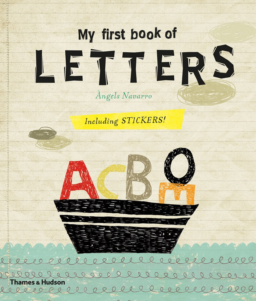 My First Book of Letters Book