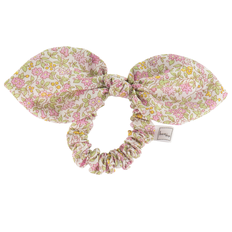 Liberty Hair Bow in Chamomile Pink by Bon Dep