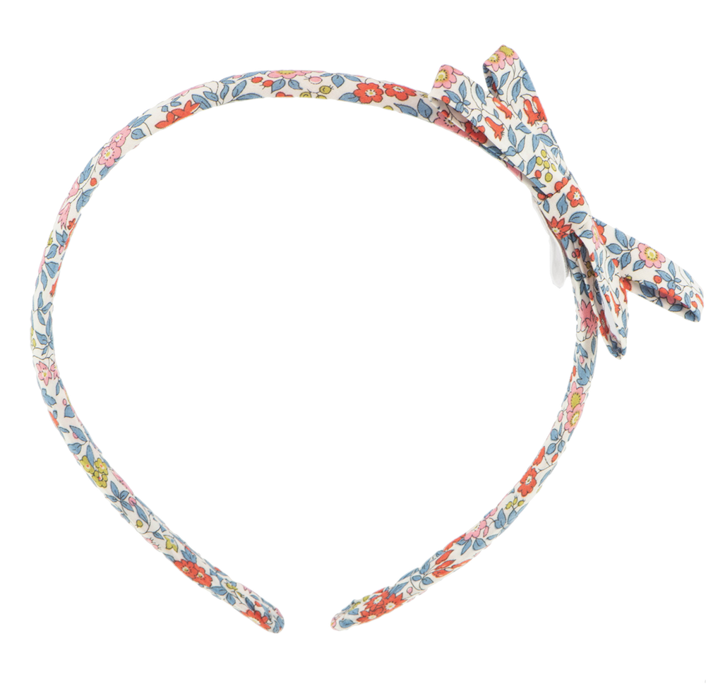 Liberty Hairband in Chamomille Red by Bon Dep