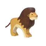 Lion Wooden Figure by Holztiger