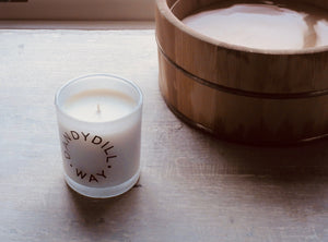 Wild Pear Blossom Room Candle 235g by Dandydill Way
