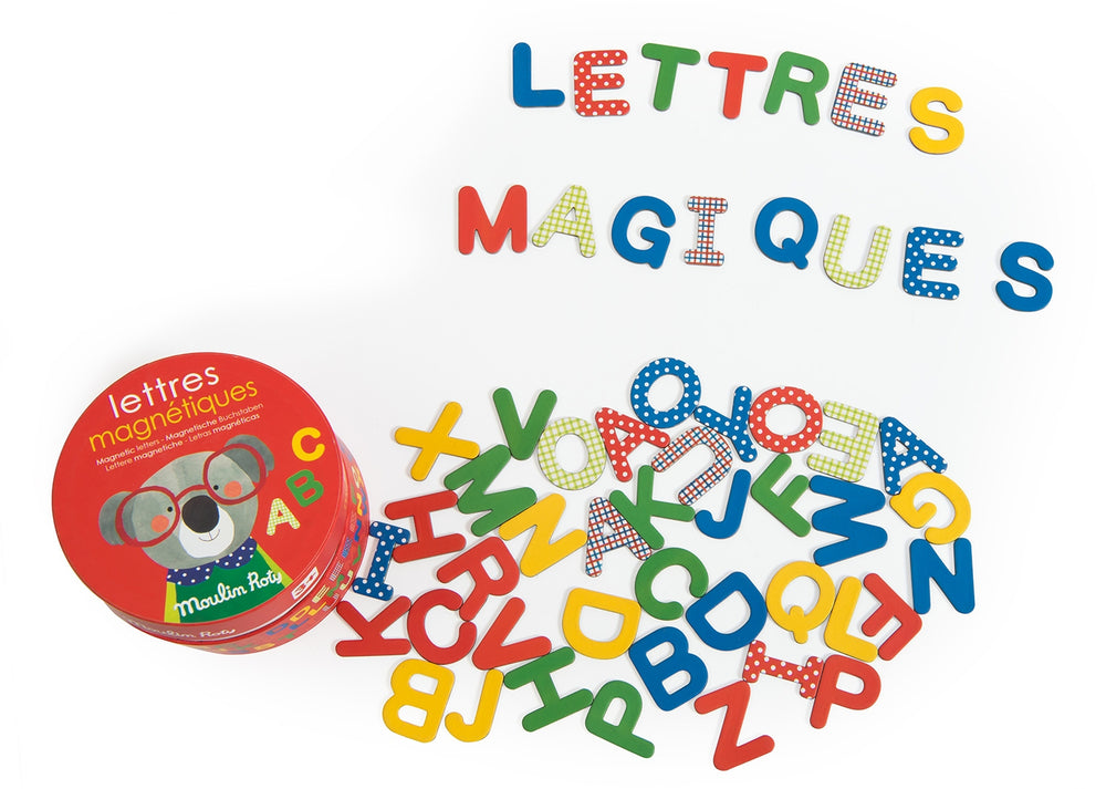 Magnetic Letters Box (54 magnets)