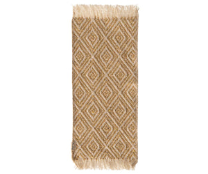 Load image into Gallery viewer, Miniature Rug, 22 x 9 cm - Mustard