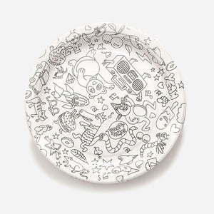Birthday Cardboard Plates Set by OMY
