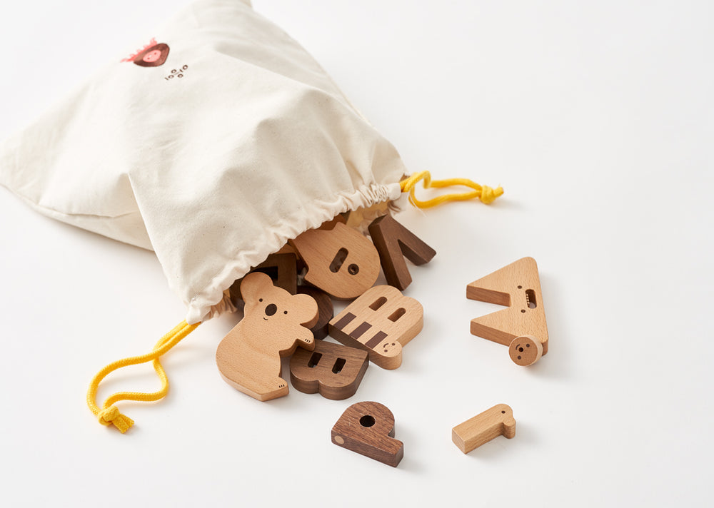 Alphabet Play Blocks Set