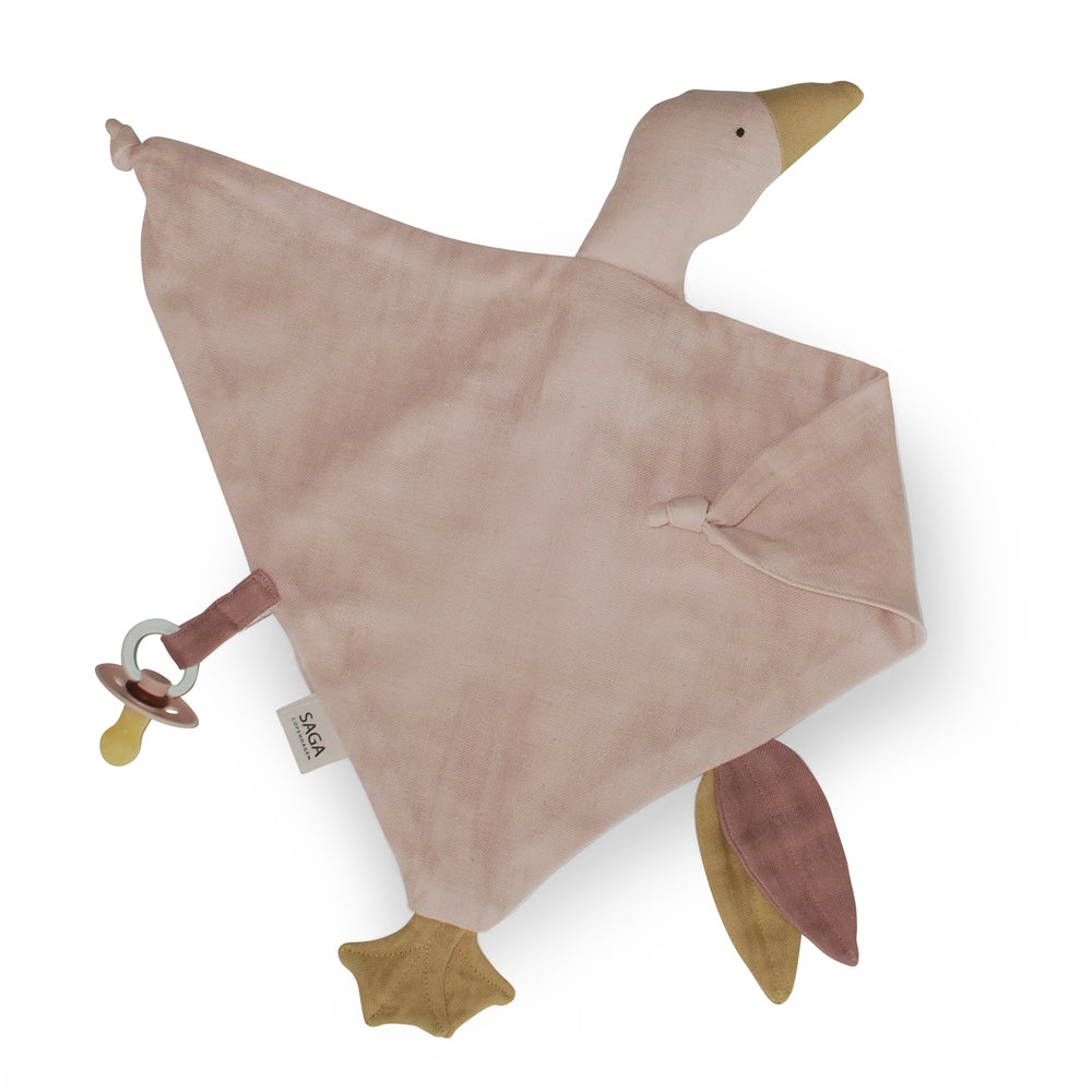 Organic Cotton Cuddle Cloth in Misty Rose