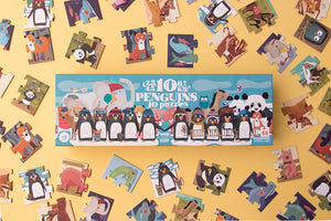 10 Penguins Number Puzzle
