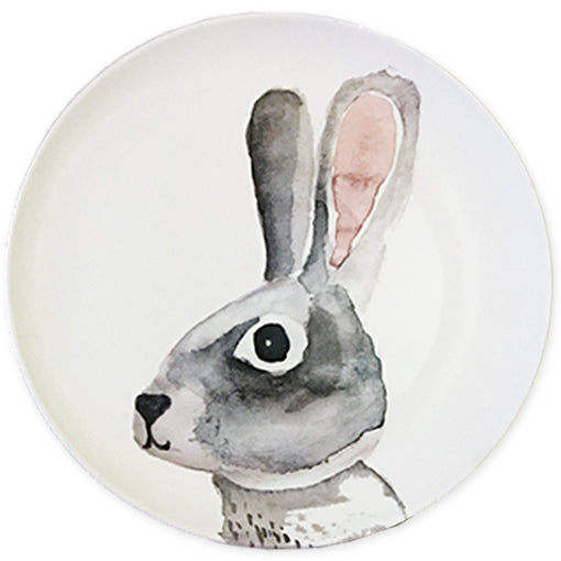 Bunny Bamboo Plate