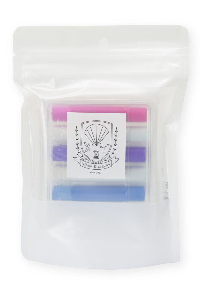 Dustless Chalk Set of 6 - Cocktail Colour by Kitpas