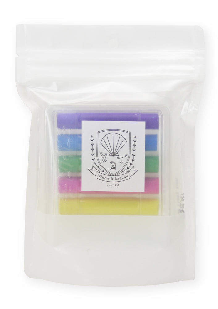 Dustless Chalk Set of 6 - Basic Colour by Kitpas