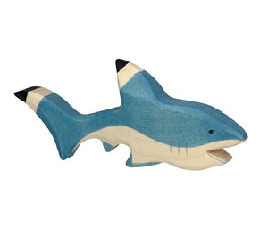 Load image into Gallery viewer, Shark Wooden Figure by Holztiger