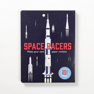 Space Racers - Make your own paper rockets