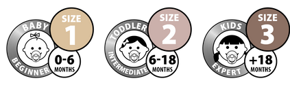Load image into Gallery viewer, BIBS Colour Pacifier Size 1 | 0-6 months | 1PC  by BIBS