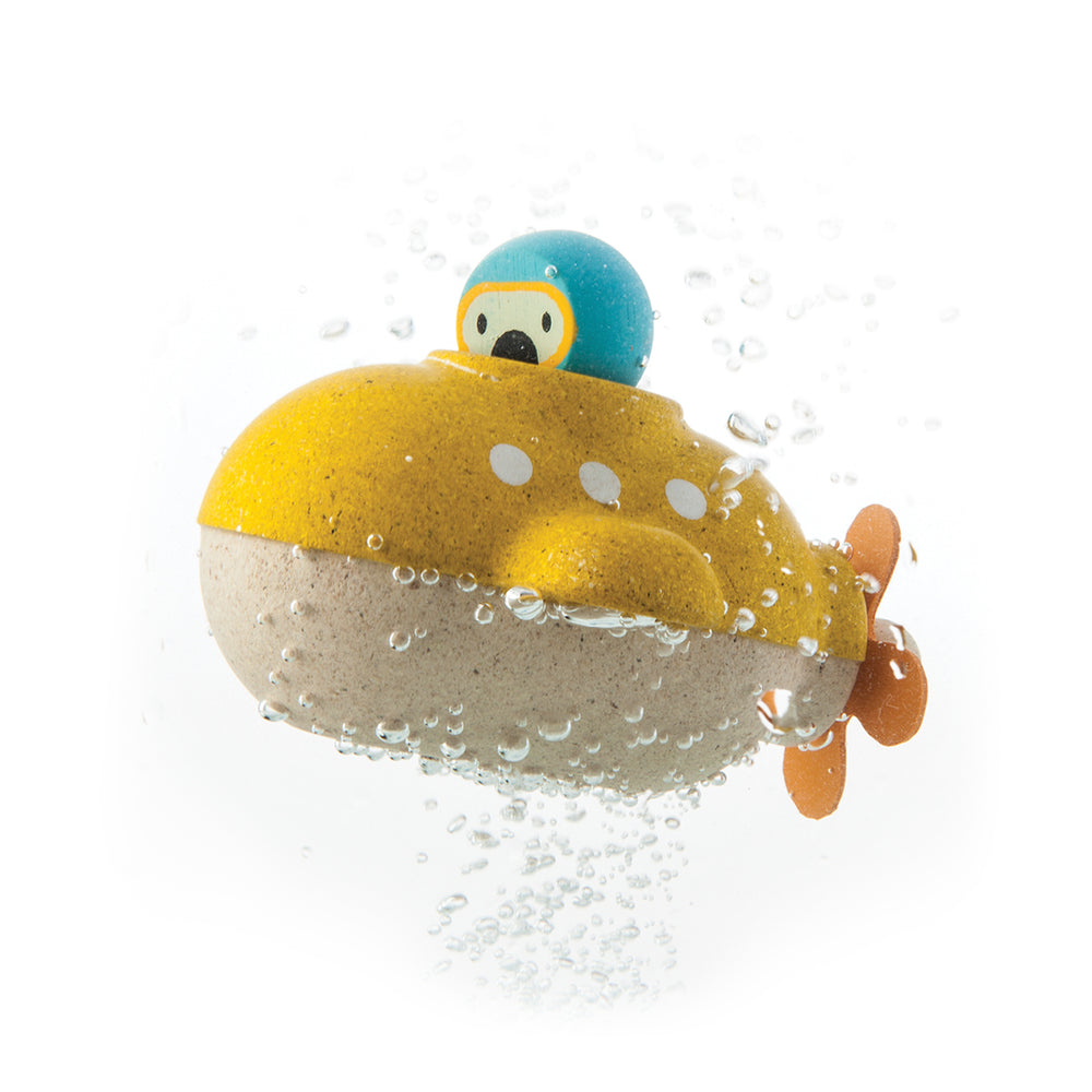 Submarine Bath and Water Toy by Plan Toys