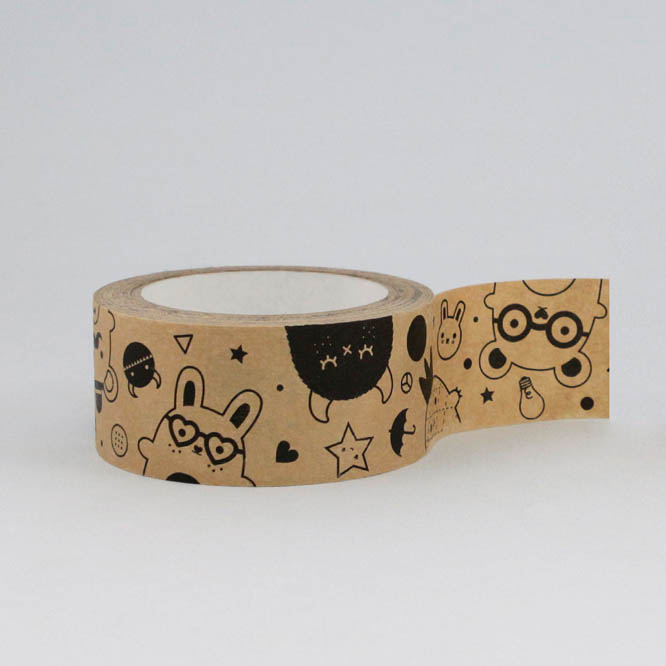 Ricemonsters Kraft Paper Tape by Noodoll (35 metres)