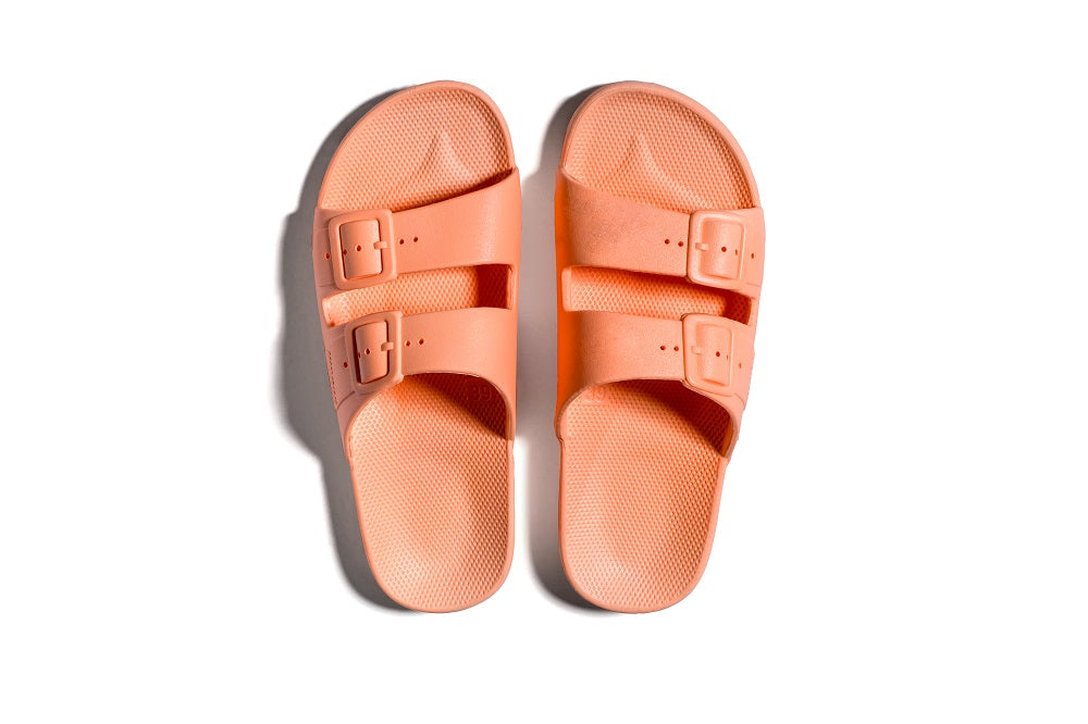 Slides in Peach Pink by Freedom Moses