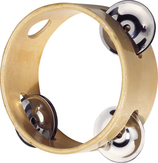 Tambourine with 3 bells by Goki