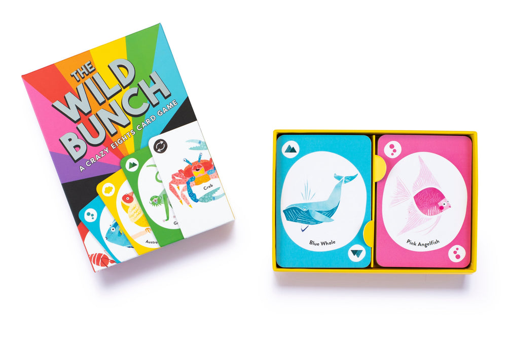 Load image into Gallery viewer, The Wild Bunch - A Crazy Eights Card Game
