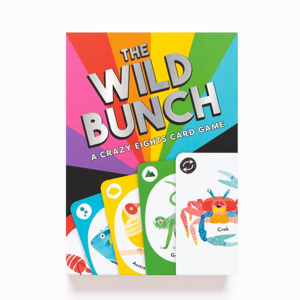 The Wild Bunch - A Crazy Eights Card Game