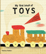 My First Book of Toys Book