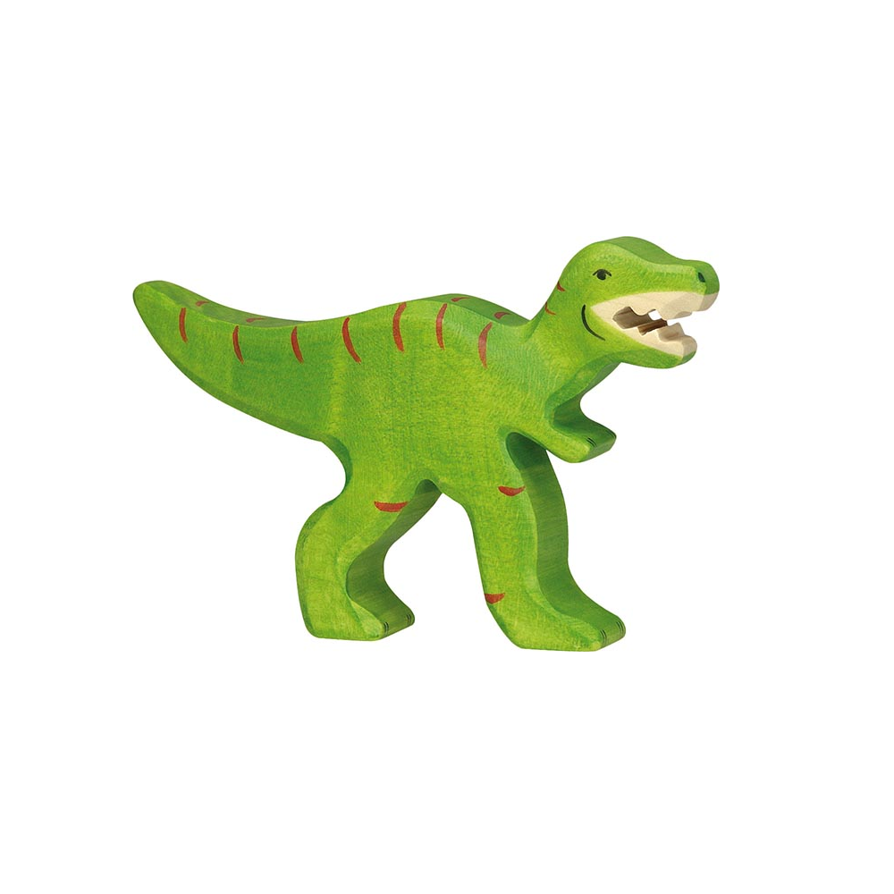 Load image into Gallery viewer, Tyrannosaurus Rex Wooden Figure by Holztiger