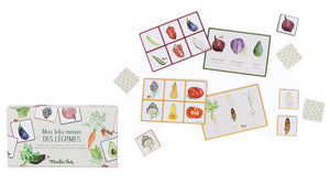 Vegetable Lotto & Memory Game